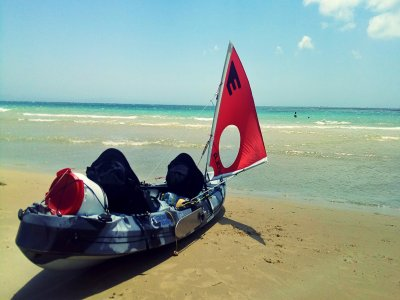 Percorso individuale in kayak 5 ore a Tarifa