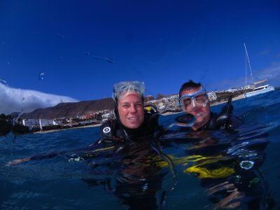 Scuba diving baptism in Fuerteventura, 3h