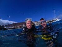 Bautizo de buceo en Fuerteventura, 3 horas.