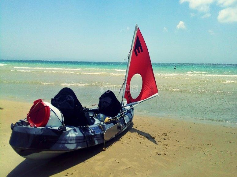 il nostro kayak
