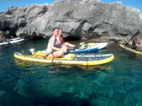 Recorriendo calas con las tablas de paddle surf