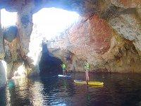 Ruta de paddle surf por cuevas