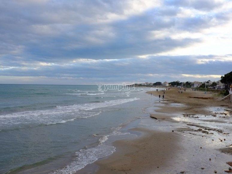 La costa de alcoceber