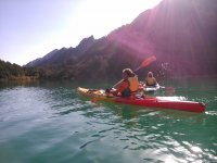 Kayaks in La Llosa del Cavall