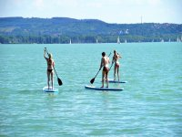 Paddle surfing for schoolchildren