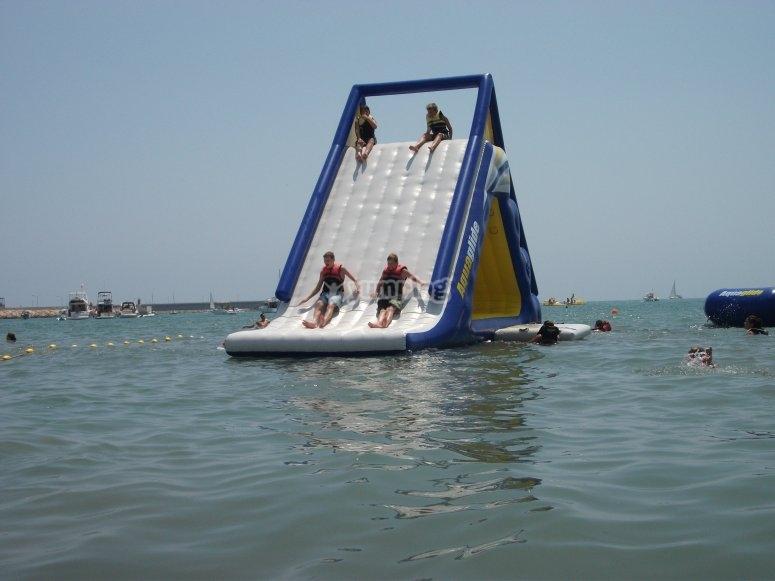 recreativo acuatico