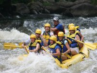 Enjoy a rafting activity in groups