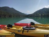 Canoeing in La Llosa del Cavall