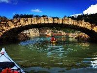 Discovering La Llosa del Cavall by canoe