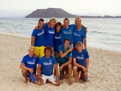 Equipo de windsurf para alquilar en Corralejo 1día