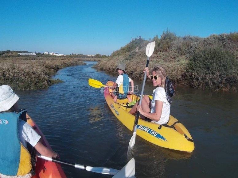 Ruta costera en kayak