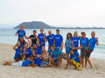 Introductory windsurfing course Corralejo 7 days