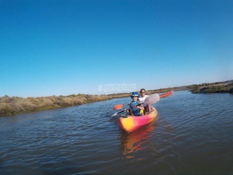 Navegacion en kayak