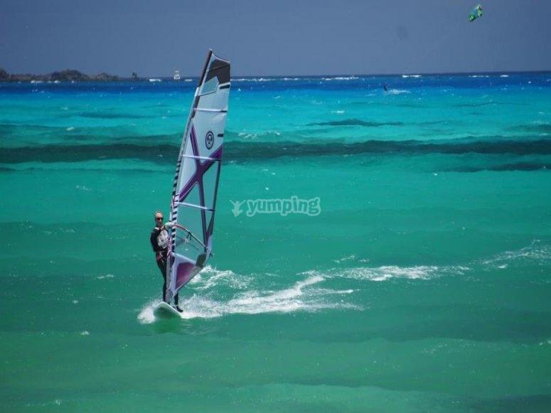 Iniziazione windsurf