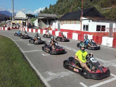 Racing kart batch in El Plat de Sant Tirs 20 min