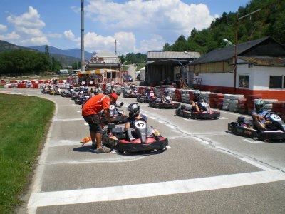 Kart race 400cc 15hp Lleida 30 minutes