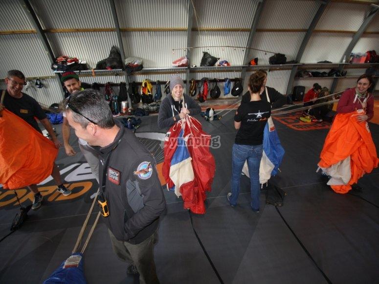 学习折叠降落伞