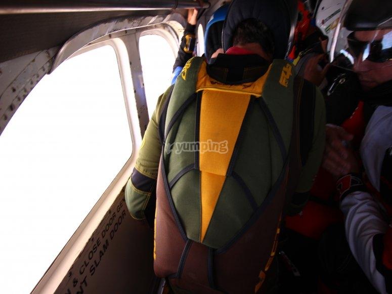 Curso de paracaidismo