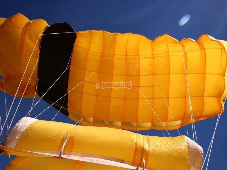 降落伞已部署
