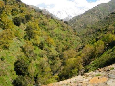 途经Sierra Nevada Star Trail 6小时