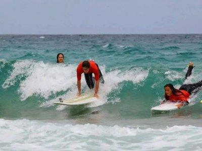 Curso de iniciciación surf Corralejo 8h en 2 días