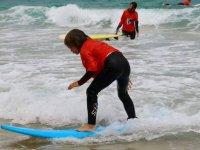 Imparare il surf a Corralejo