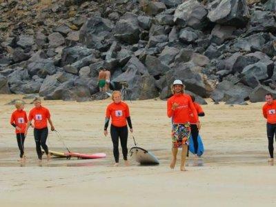 Curso de surf en Corralejo 20 horas en 5 días