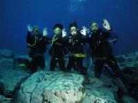 Curso buceo Open Water Diver PADI Tenerife 4 días
