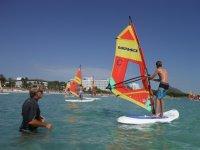 Iniciación al windsurf en Muro