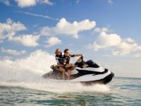 Ride a jet ski with your partner