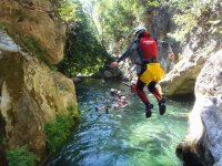 Canyoning nel Rio Grande