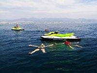 Motos de Agua en mar de Castellón