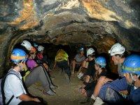 在特内里费岛洞穴