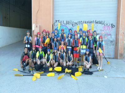 Initiation kayaking Cinca River 1h