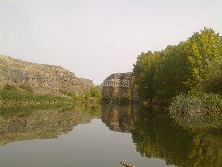 Parque natural en Segovia