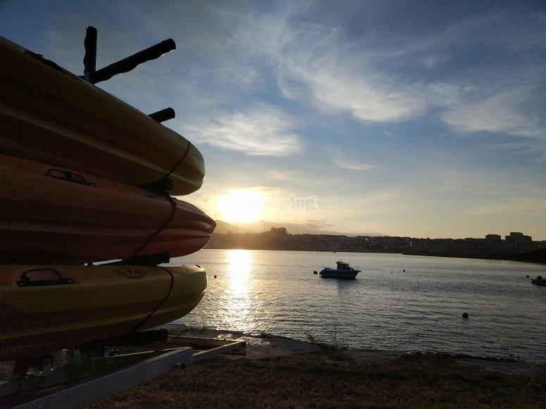 Kayak a Lugo