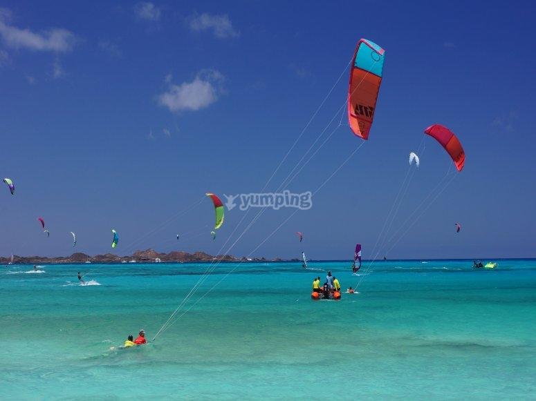 Kitesurf en Corralejo