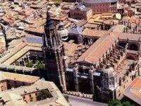 Ciudad de Toledo vista desde el globo
