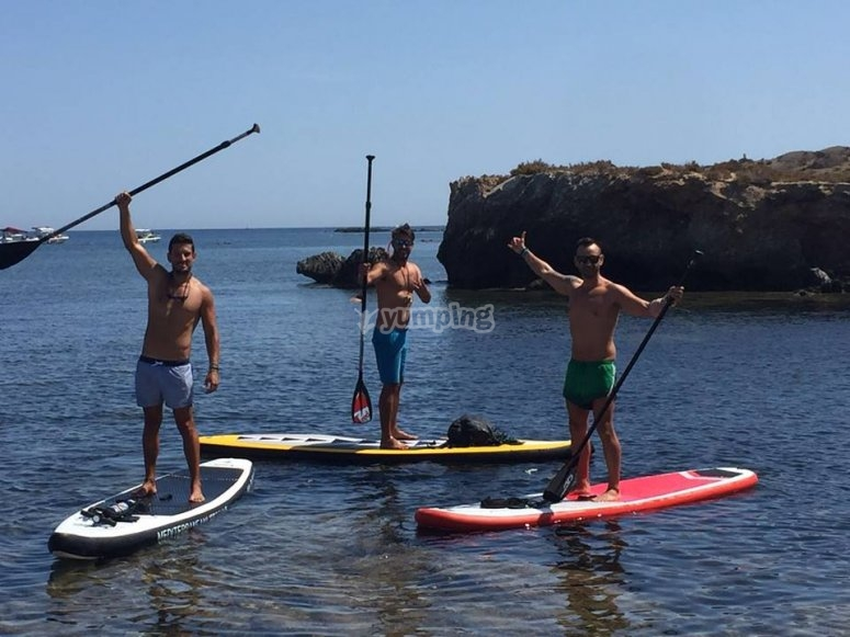 Paddle surf en Playa San Juan