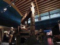 En el museo de la bodega