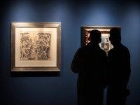 Conociendo obras de arte en la bodega
