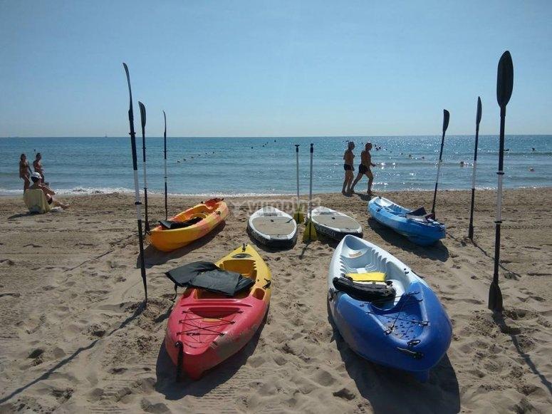 Alquiler de Kayaks en Alicante