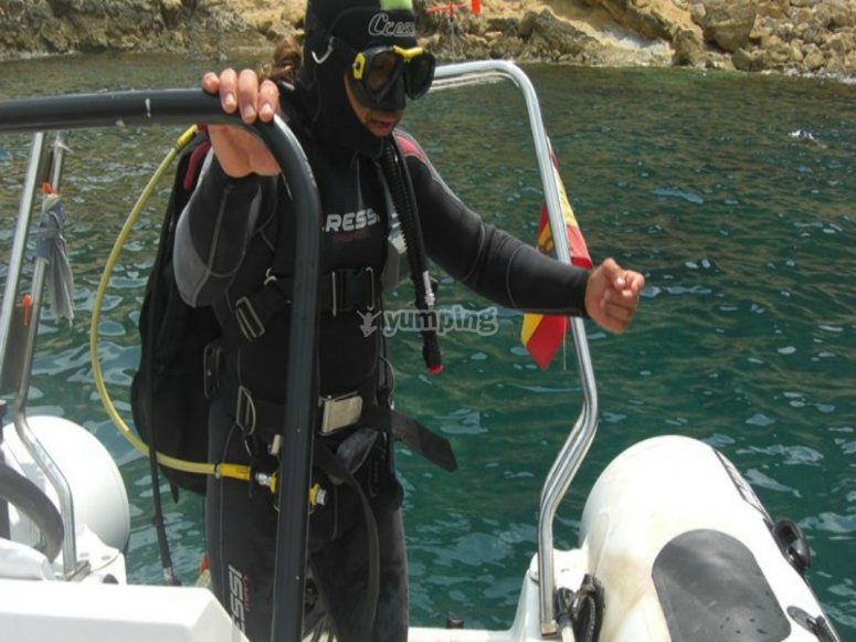 Before diving
