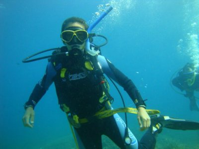 3h try dive from boat+photos in Javea