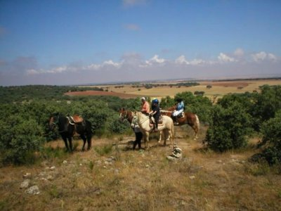 Horse-riding route + accommodation, Salamanca