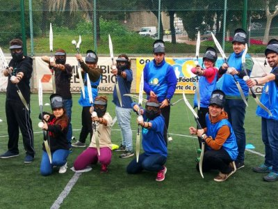 Archery tag+bubble football 3h BCN team building
