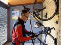 Soporte para colgar las bicis