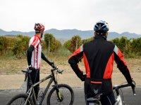 Ciclistas en Vivanco