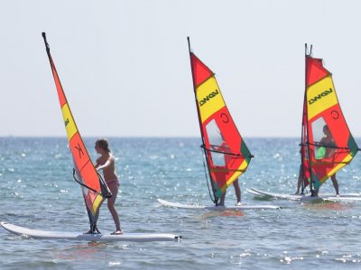 Introduction windsurfing course for children, Muro