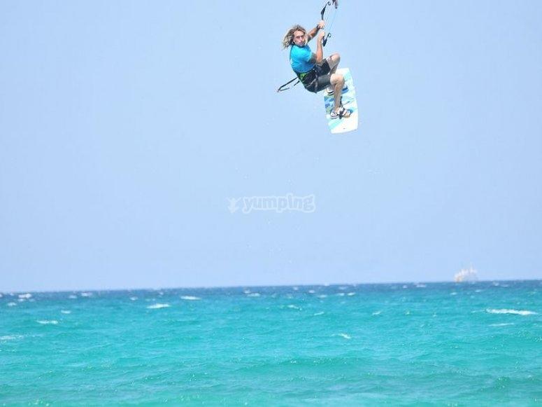 Bautismo de kitesurf